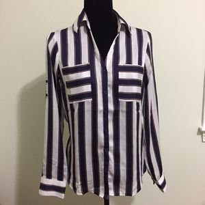 Striped blouse - Express - Size: Small